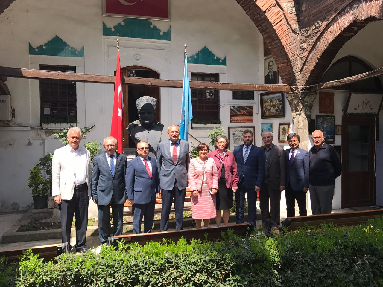 Turkish Maarif Foundation Delegation visited Turkish World Research Foundation and negotiated about cooperation possibilities